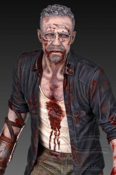 The Walking Dead TV Series Merle Dixon Walker 1 4 Scale Statue figure