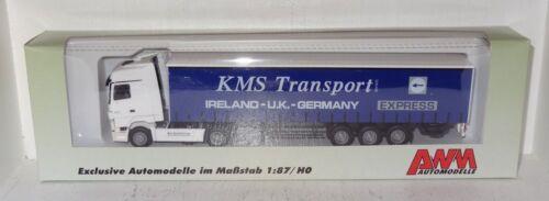 AWM MB Actros 1844 KMS Transport Ireland-U.K.-Germany 1:87 in OVP R2/_3/_4