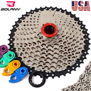 BOLANY-MTB-Bike-11-40-42-46-50-Cassette-8-9-10-11S-Cycling-Chains-Sprocket-Cogs