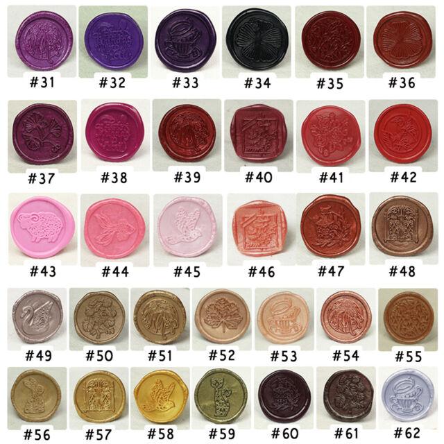 30pcs//100pcs Retro Sealing Wax Beads Painting Stamp Envelope Wedding Place Cards