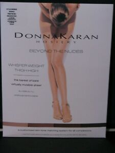 627183cf5 Donna Karan Hosiery BEYOND THE NUDES DK5003 Thigh High TALL GRANDE ...