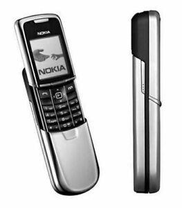 Nokia 8800-Argento (Sbloccato Di Fabbrica) telefono cellulare + accessori