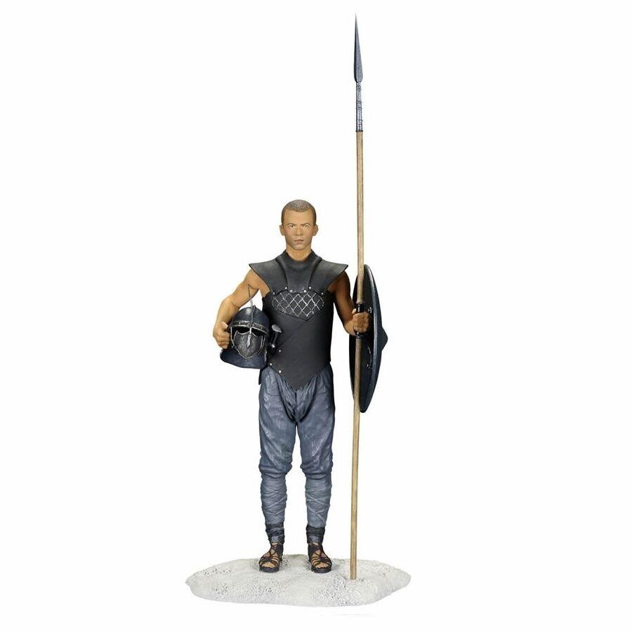 Game of Thrones NIB  Grey worm Dark Horse GOT Unsullied Figure Figurine Statue