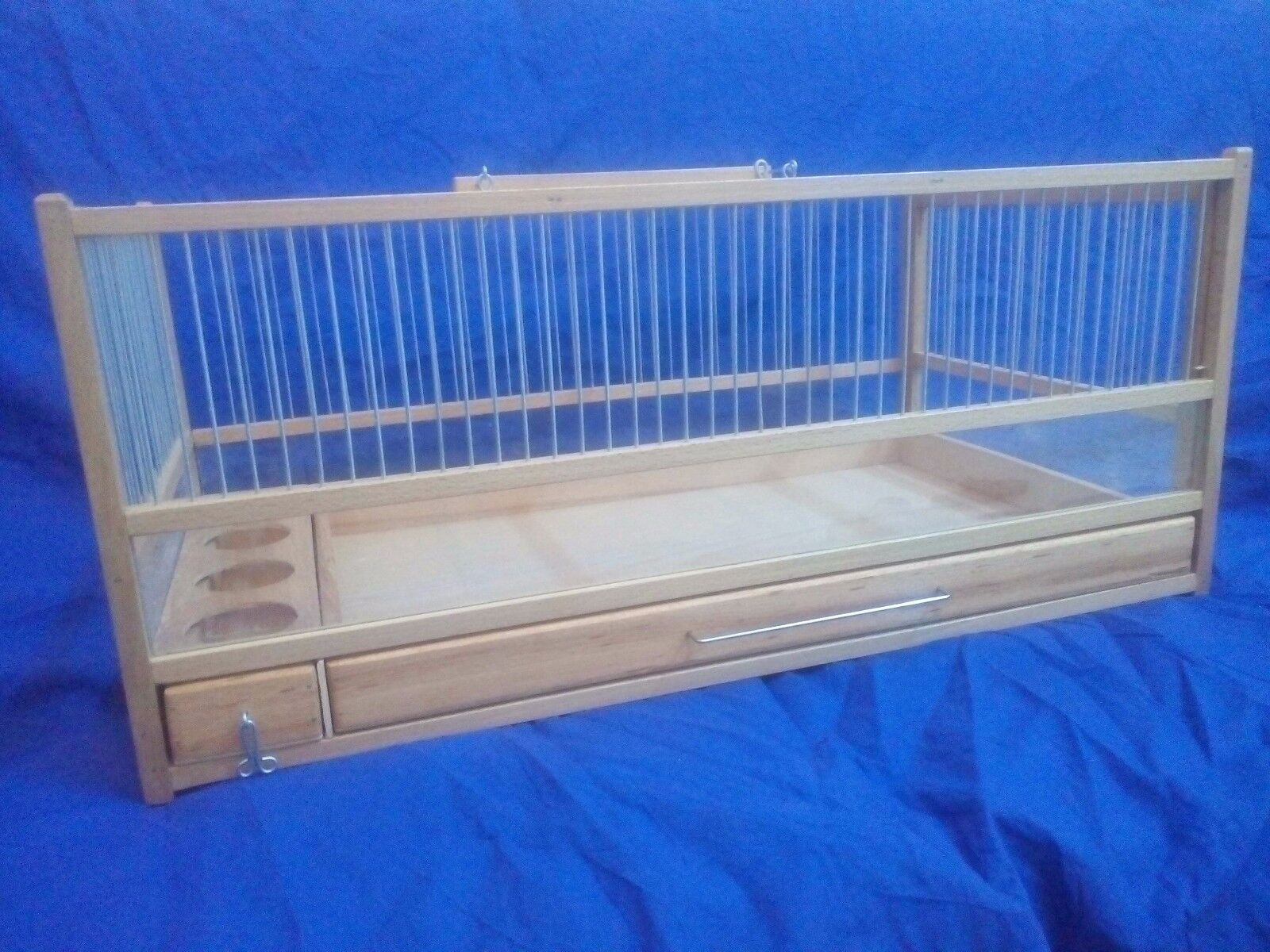 Quail Cage, Rodent, Small Animal   Wooden Quail Cage, Plexiglas, Slide Out T