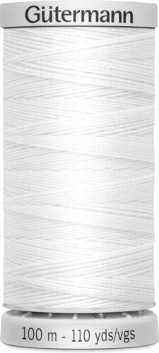 Gütermann extra fuerte coser jeans Garn color blanco 5.00 eur//100 metros