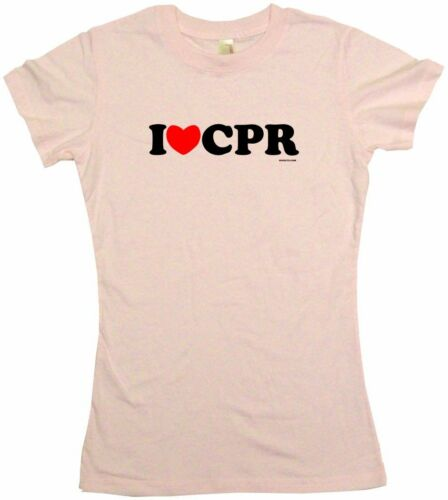 CPR Womens Tee Shirt Pick Size Color Petite Regular S//S L//S Tank I Heart Love