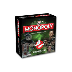 NEW-amp-Genuine-Hasbro-Monopoly-Ghostbusters-edition