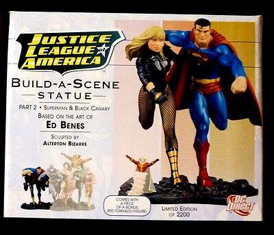 JLA DC Comics Justice League of America Build A Scene Statue #2 New 2008