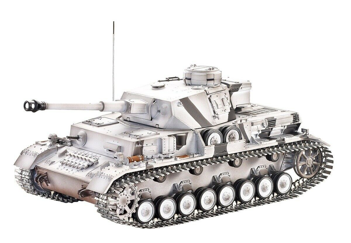 2.4Ghz 1 16 Tyska Panzer IV Ausf G Metal Edition Airmjuk Battle Tank av Taigen