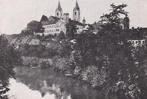Freising - Partie an der Isar - Stadtansicht -  um 1920 -  RAR