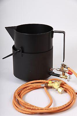 Klempner,straßenbau Usw Ungleiche Leistung Bitumenkocher Klein Ideal Für Dachdecker Gaskocherset