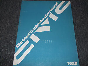 1988 Honda CIVIC Electrical Troubleshootin<wbr/>g Wiring Service Shop Repair Manual