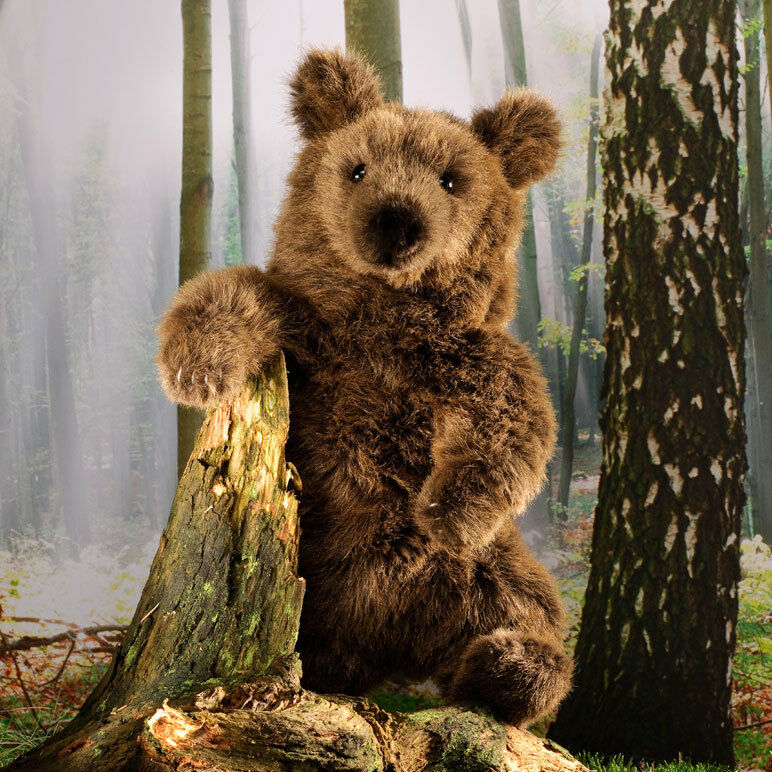 Brown bear collectable soft toy by Kosen   Kösen - 3105 - 38cm tall   15 inches