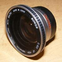 0.45x Wide Angle Lens For Canon Vixia Hf20 Hf200