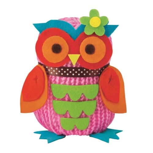French Knitting Owl Doll Easy To Do Craft Kit Art Craft Toy Novelty Childs Kids