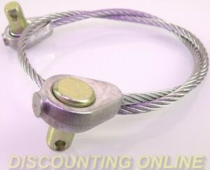 quality mower deck lift wire cable fits mtd cub cadet 746. Black Bedroom Furniture Sets. Home Design Ideas