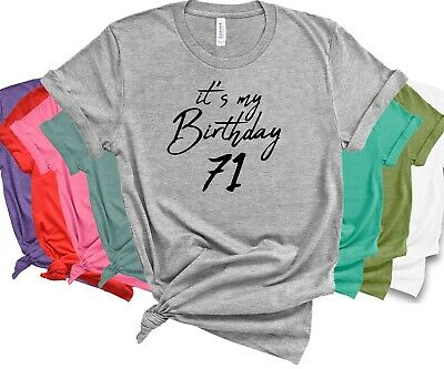 This Is My 71st Birthday T Shirt