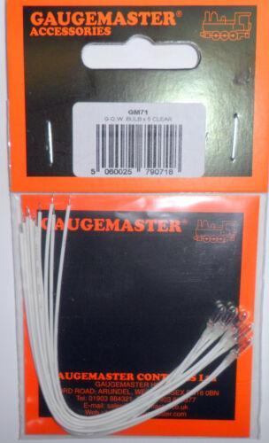 gaugemaster Gm71 g.o.w bulbs white