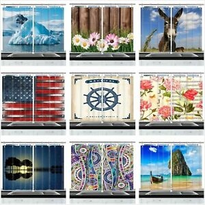 49 Types Modern Art Print Window Drapes Kitchen Curtains 2 Panels