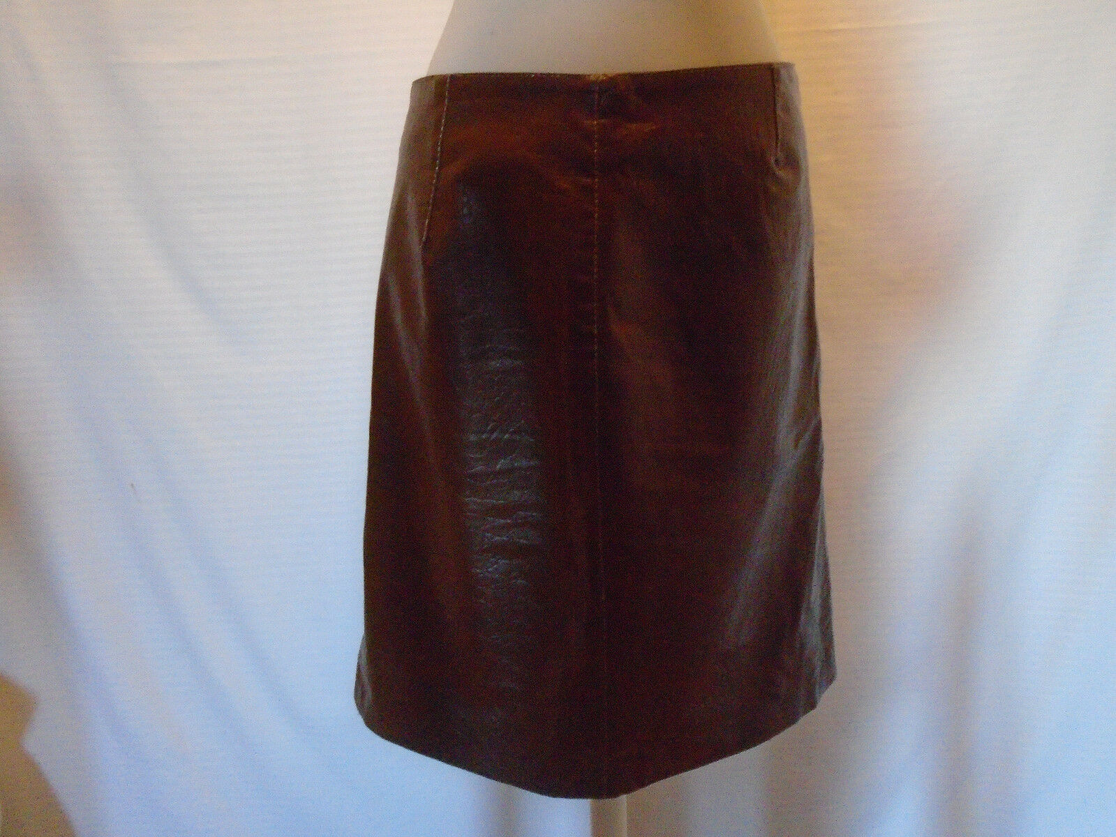 BORGOFIORI WOMANS BROWN  SKIRT SIZE 6
