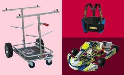 15% off Go-Kart Parts & Accessories
