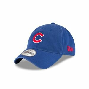 free shipping 7a3d6 681d6 Image is loading Chicago-Cubs-New-Era-Blue-Core-Classic-9Twenty-