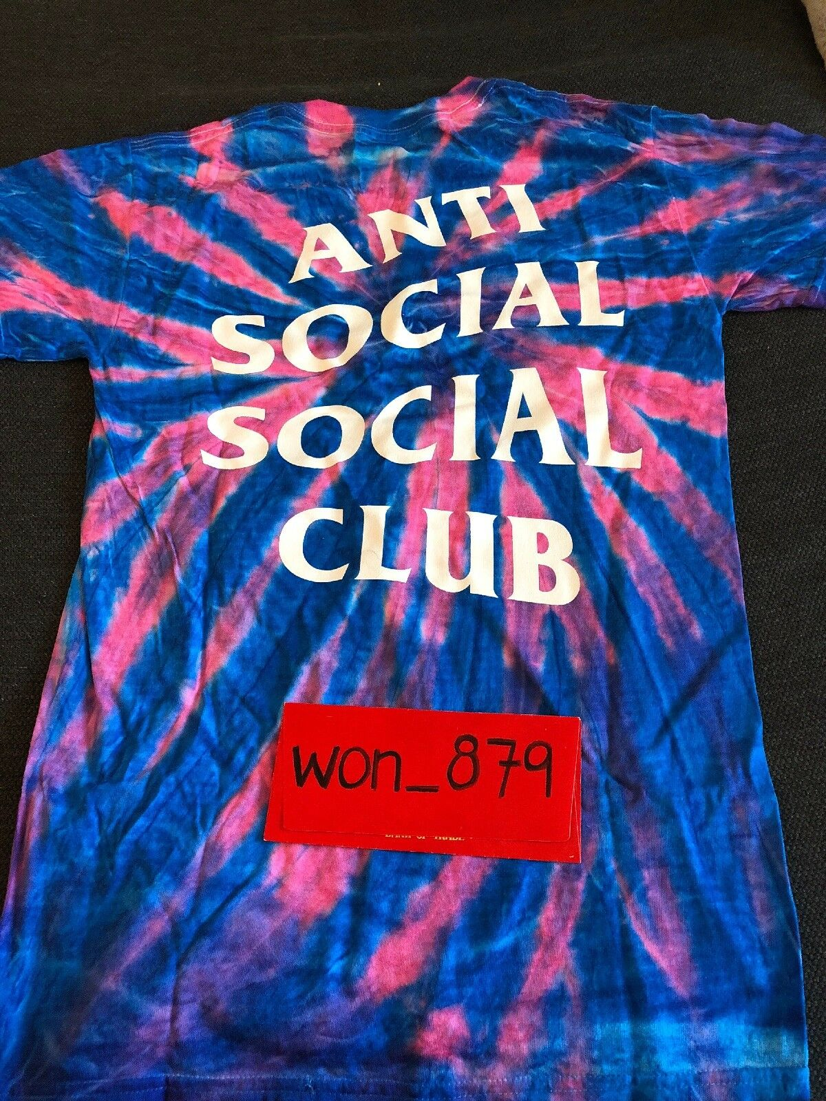 Men's Anti Social Social Club LSD Jelly Tee Size S  In Hand   100% Authentic