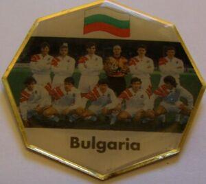 WORLD-CUP-94-USA-SOCCER-BULGARIA-TEAM-PIC-FIFA-FOOTBALL-vintage-pin-badge-Z8J