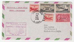 STORIA-POSTALE-AEREA-1957-USA-5-VALORI-SU-AEROGRAMMA-ANCHORAGE-24-2-Z-5223