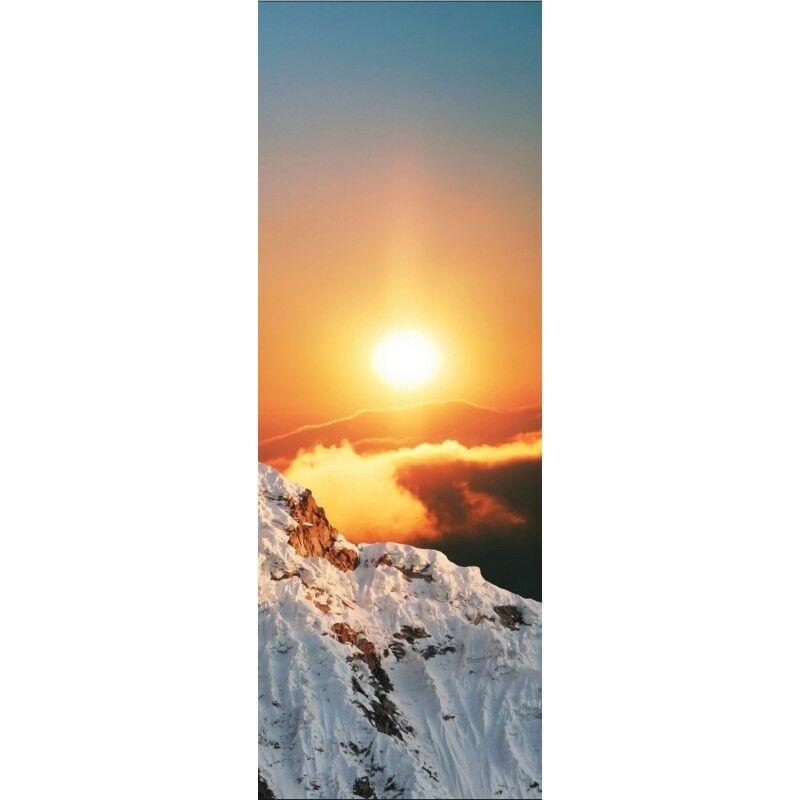Aufkleber Tür Schnee Sonne 703 703 703 ffe9a1