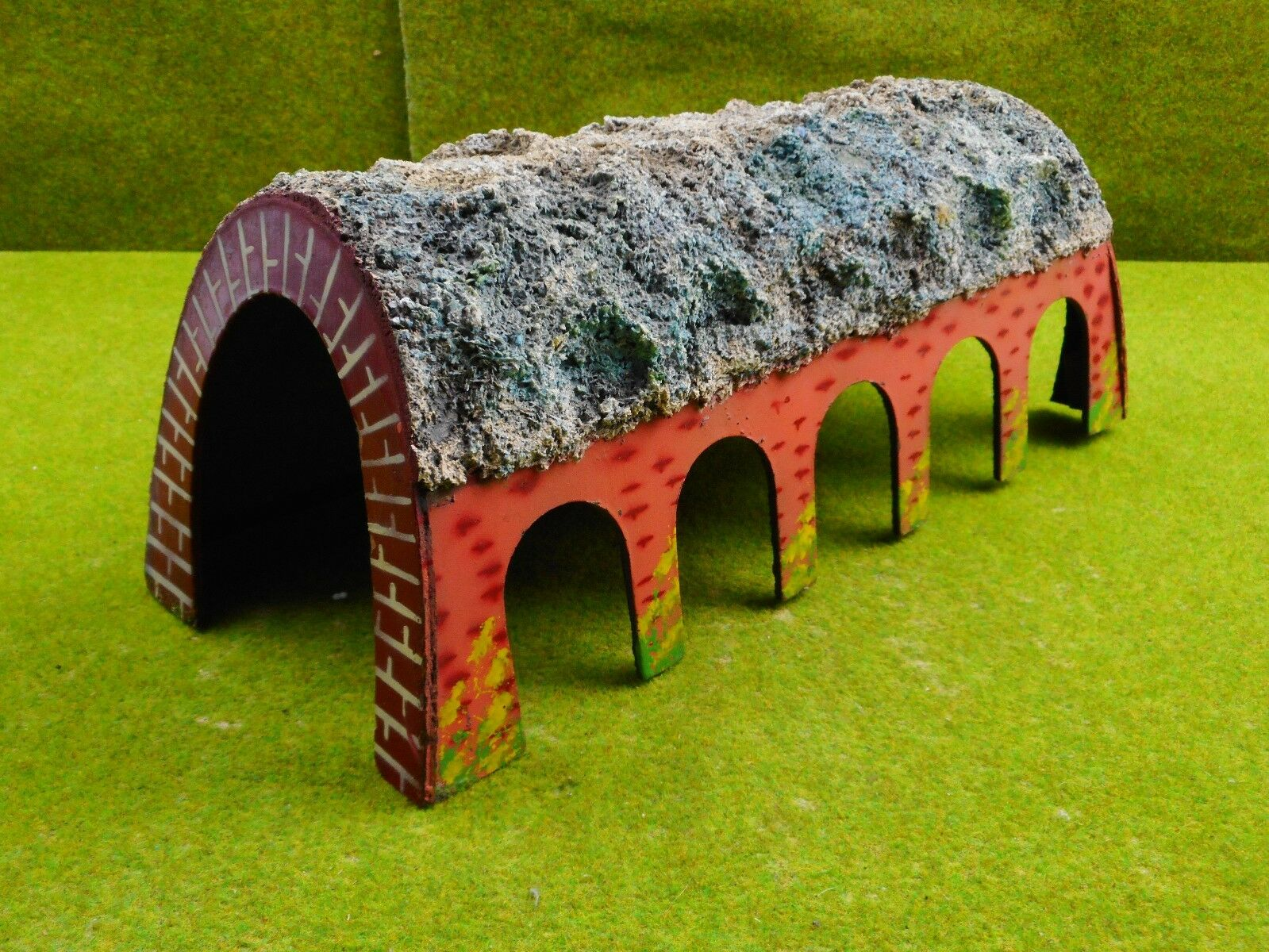 A14 Kibri h0 50er años madera túnel largo aprox. 30 cm