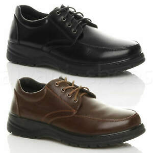 MENS-LACE-UP-CASUAL-MEMORY-FOAM-INSOLE-COMFORT-CUSHIONED-WORK-SHOES-SIZE