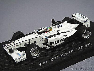 Ebbro 1 43 PIAA Nagashima Racing Formula Nippon 2007 L. Duval