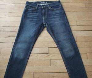 HOLLISTER-Jeans-pour-Homme-W-29-L-30-Taille-Fr-38-SKINNY-Ref-V001