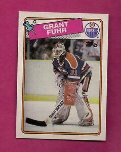 1988-89-TOPPS-59-OILERS-GRANT-FUHR-GOALIE-NRMT-MT-CARD-INV-4894