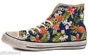CONVERSE CHUCK TAYLOR ALL STAR PRINT HI CANVAS Scarpe Sneakers 152699C INKED