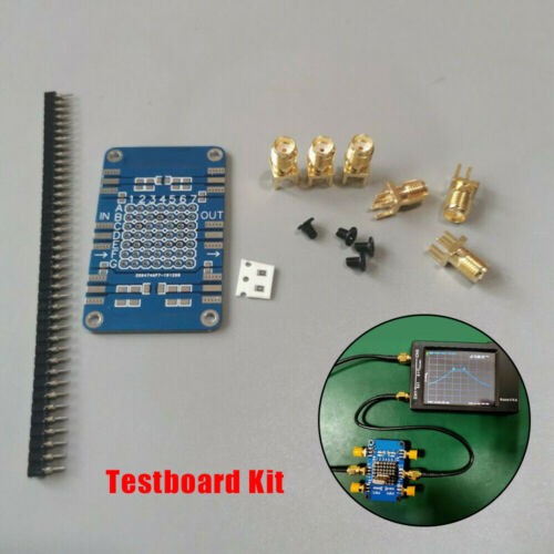 NanoVNA Testboard Sets Demo Board Plate Vector Network Analyzer Testing Pc66 HOT