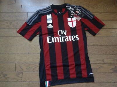 AC Milan Home 2014//15 SS BNWT ADIZERO Original Shirt//Trikot//Camiseta