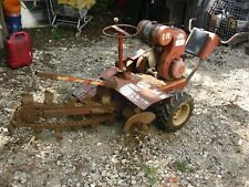 Ditch Witch Trencher C 99 Old Model Runs Works Trench Digger