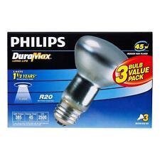 Philips 223149 Duramax 45-Watt R20 Indoor Flood Light Bulb 3-Pack FreeShippi