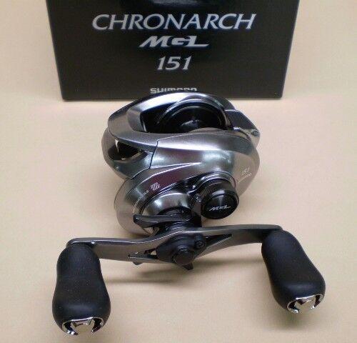 Shimano Chronarch MGL 151 Low Profile Baitcasting Reel 6.2:1 Left Hand CHMGL151