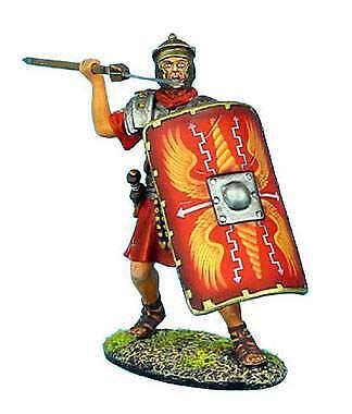 First Legion - ROM007 - Roman Legionnaire Throwing Pilum - Rome - RETIRED