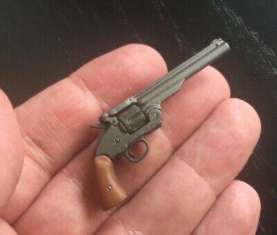 "12/"" 1//6 Scale Action Figure Cowboy Gun Revolver Pistol Metal Pearl Dragon BBI"