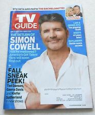 VG! TV GUIDE ~SIMON COWELL Cover ~ 5/23 - 6/5, 2016 ~ DOUBLE Issue / English