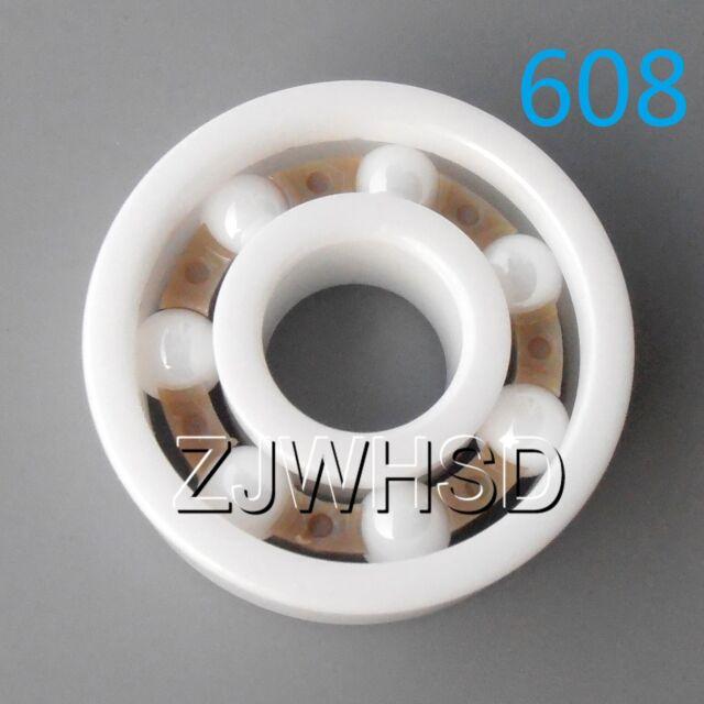 3*10*4 623 2 PCS Full Ceramic Zirconia Oxide Ball Bearing ZrO2 3x10x4 mm