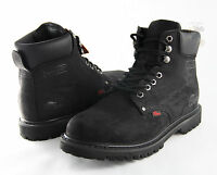 Men Work Boot Cobra C11 Black Genuine Leather Goodyear Welt Construction