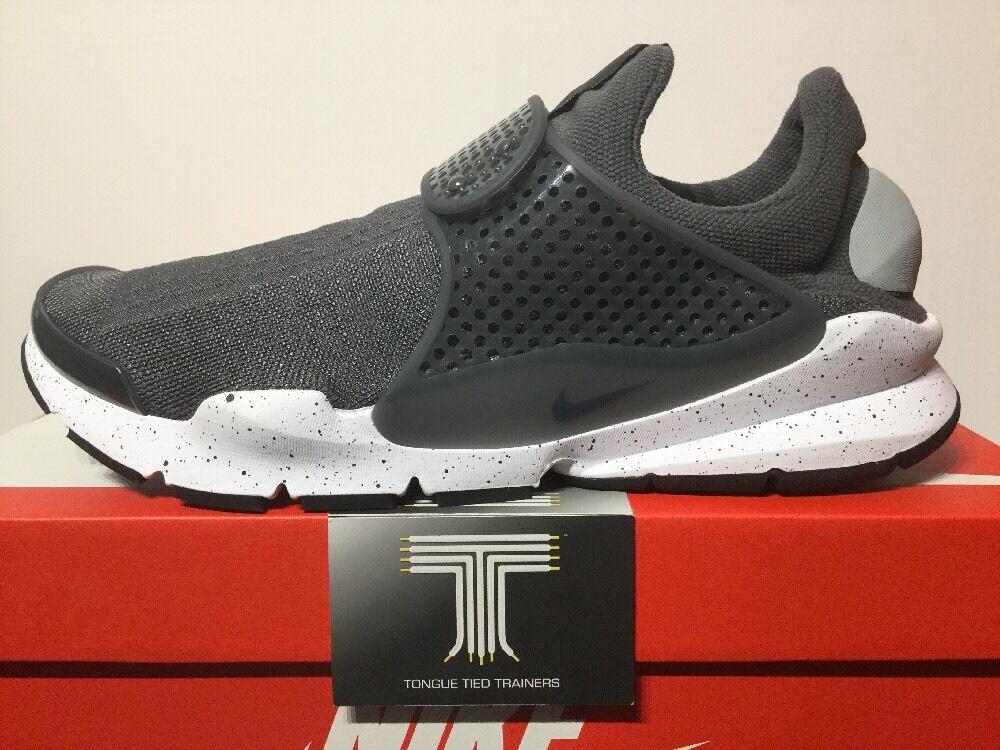 Nike SOCK Dart ~ LUPO GRIGIO ~ 819686 003 10 ~ Regno Unito taglia 10 003 a90360