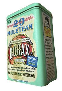 20 Mule Team Borax Nature's Landry Sweetener Empty Tin Can