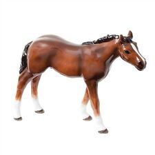 Thoroughbred Foal (Light Bay) Horse Figurine NEW in Gift Box - 23429