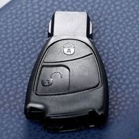 2 Buttons Smart Car Remote Key Fob Case Shell For Mercedes Benz C E S Class CLS